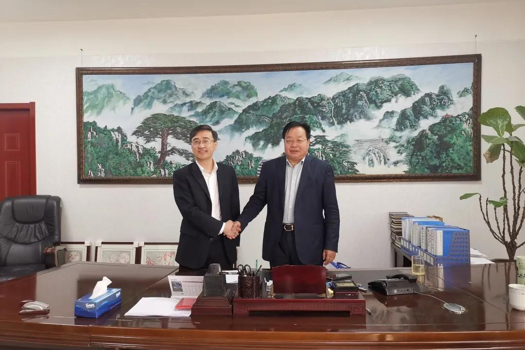 热烈祝贺诚城联合集团与济南市长清计算机应用公司战略合作正式签约!